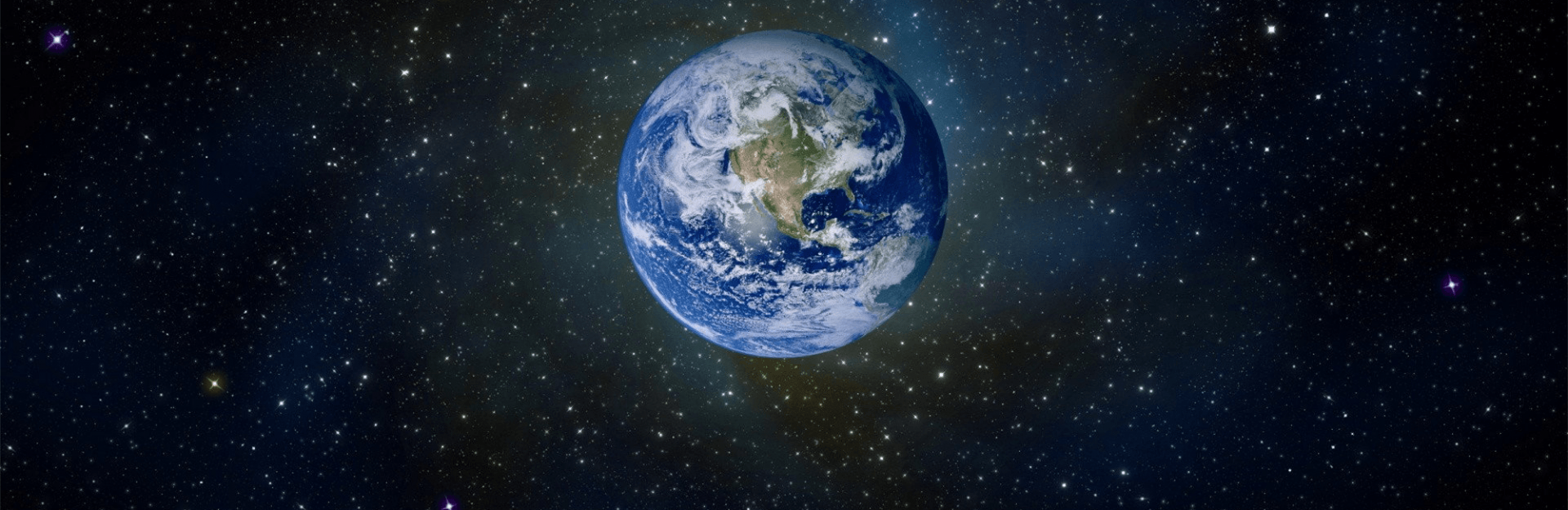 earth and universe homepage hero image